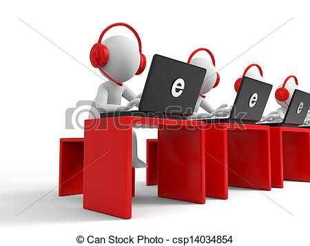 Clipart of little red stick people at customer service desk download Clipart service desk - ClipartFest download