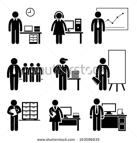 Clipart of little red stick people at customer service desk image library Stick Figure Stock Images, Royalty-Free Images & Vectors ... image library