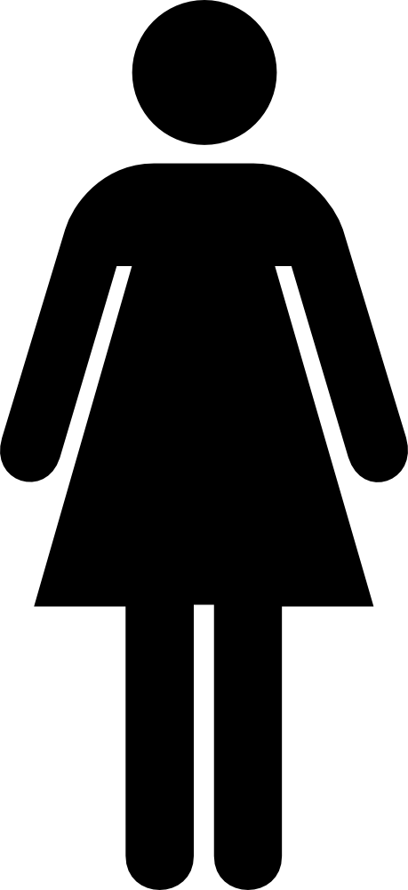 Female Bathroom Sign - Print this free clip art image on a full ... jpg download