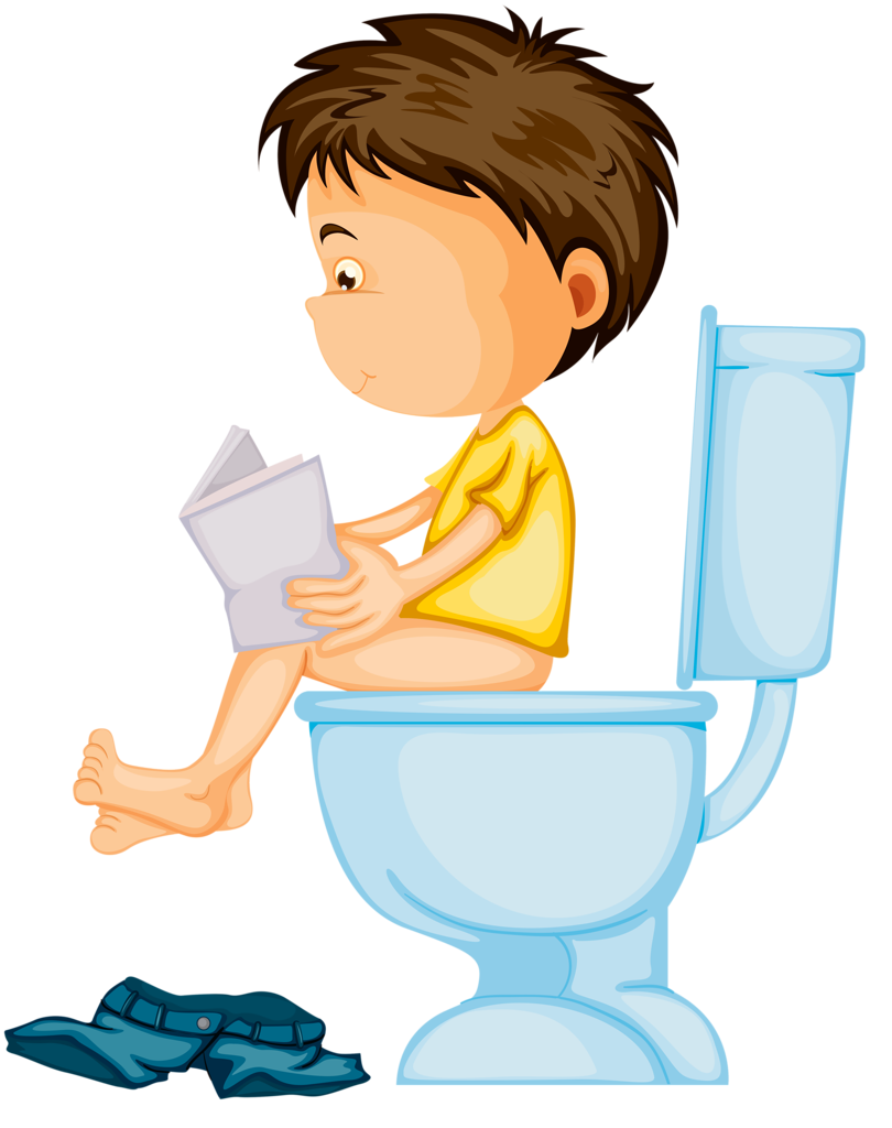 Clipart of man sitting on toilet reading book clip art download 1.png | Pinterest | Clip art, Quiet book patterns and Tela clip art download