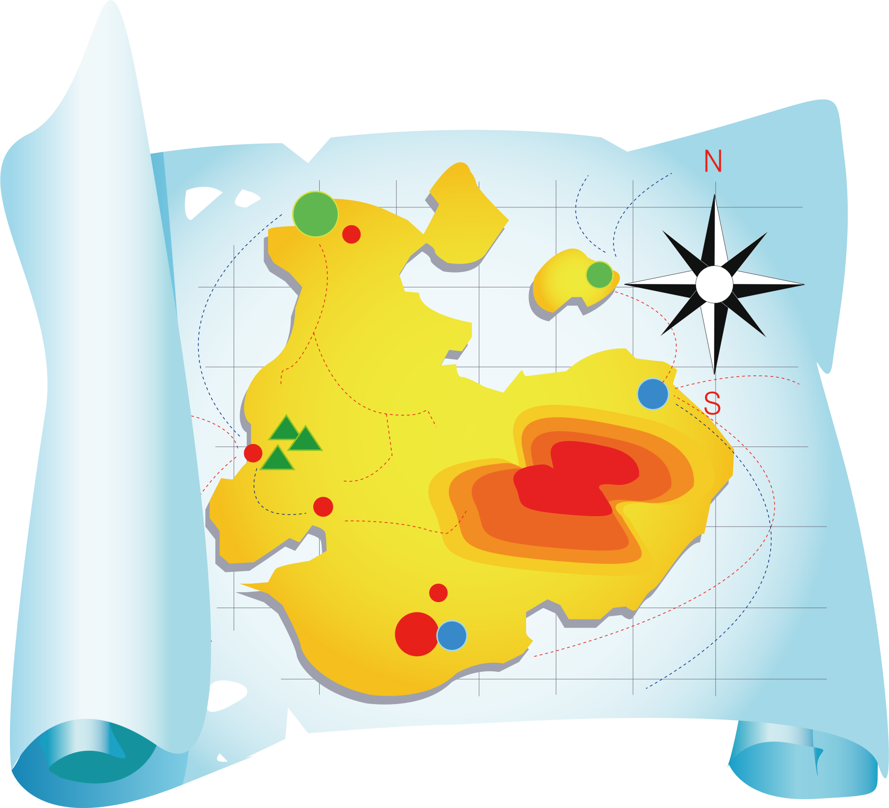 Clipart of map freeuse library Clipart map 6 » Clipart Station freeuse library