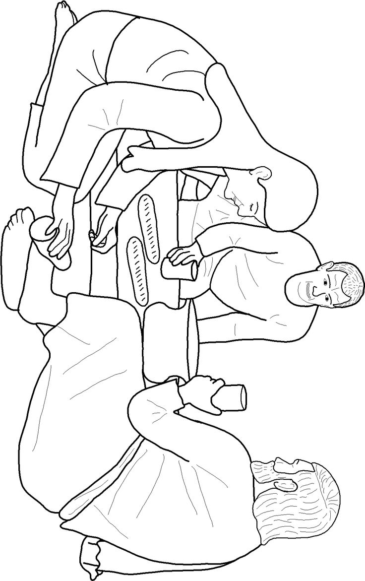 Jesus Washes the Disciples Feet Coloring Page | Ministry-To-Children | 1171x736