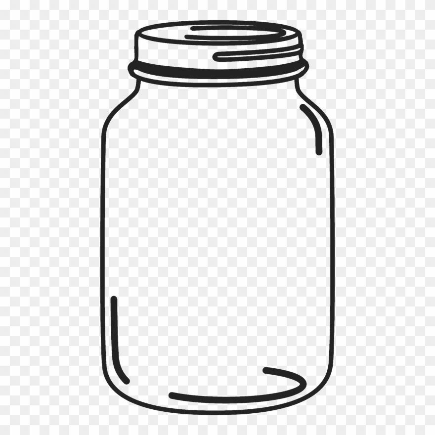 Mason jar clipart graphic library Mason Jar Rubber Stamp - Transparent Mason Jar Clip Art - Png ... graphic library