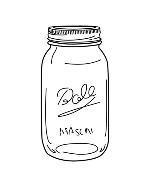 Clipart of mason jars clip art transparent stock Free Mason Jar Vector, Download Free Clip Art, Free Clip Art on ... clip art transparent stock