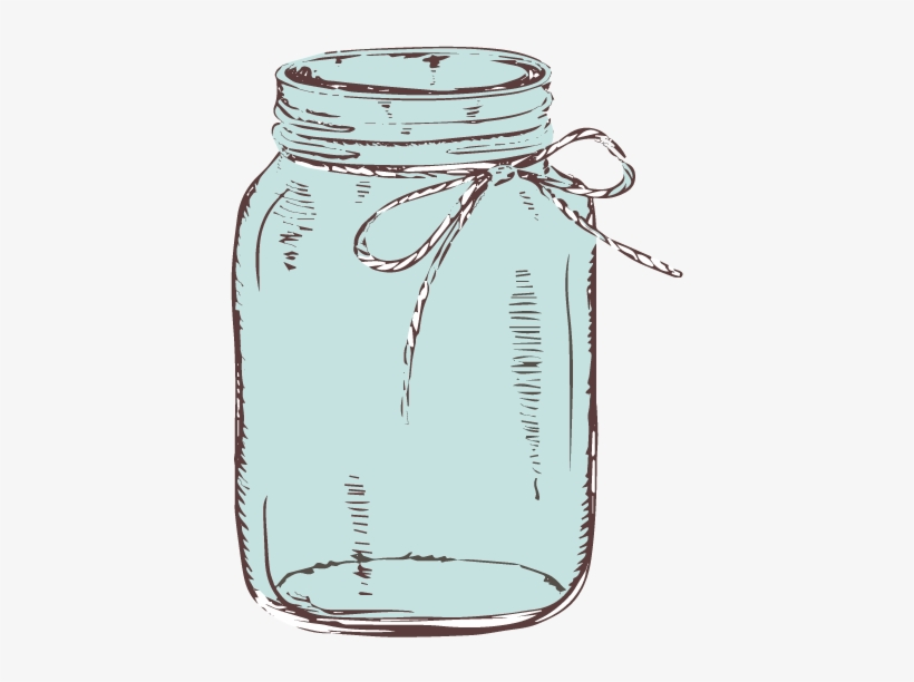 Clipart of mason jars banner freeuse download Graphic Library Download Mason Jar With Bow Clipart - Transparent ... banner freeuse download