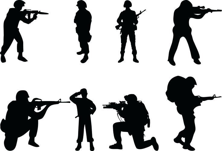 Sentry clipart svg transparent library Military Clipart Army | Free download best Military Clipart Army on ... svg transparent library