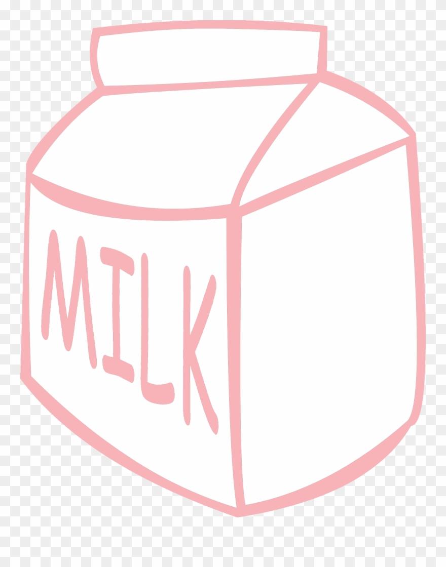 Clipart of milk carton
