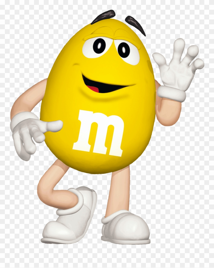 M & m characters clipart clipart library M&m Characters Yellow Clipart (#1090315) - PinClipart clipart library