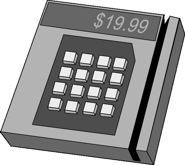 Clipart of money machine image transparent stock Credit Card Machine Clip Art at Clker.com - vector clip art online ... image transparent stock
