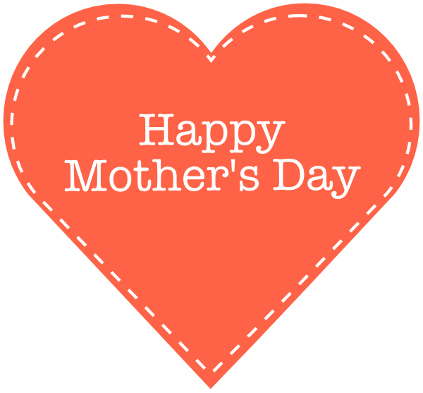 Clipart of mothers day hearts. Mother heart clipartfest
