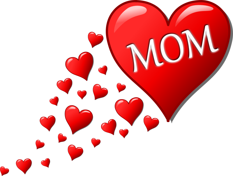 Clipart of mothers day hearts clip art library library Free Clipart: Mother's day heart with small hearts track | Symbol clip art library library