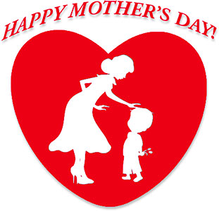 Mother s animations free. Clipart of mothers day hearts