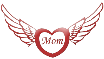 Clipart of mothers day hearts jpg library Mother's Day Graphics - Page Two jpg library