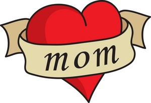 Clipart of mothers day hearts image royalty free download Clipart of mothers day hearts - ClipartFest image royalty free download