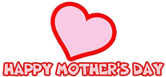 Clipart of mothers day hearts clip art stock Mothers Day Heart | Happy Mothers Day clip art stock