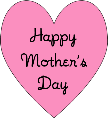 Clipart of mothers day hearts clip black and white download Mother's Day Heart Clipart - Clipart Kid clip black and white download