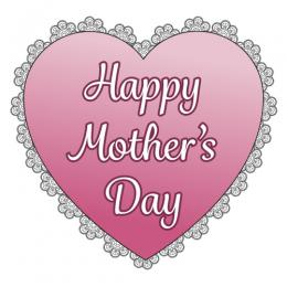 Clipart of mothers day hearts. Clipartfest heart design
