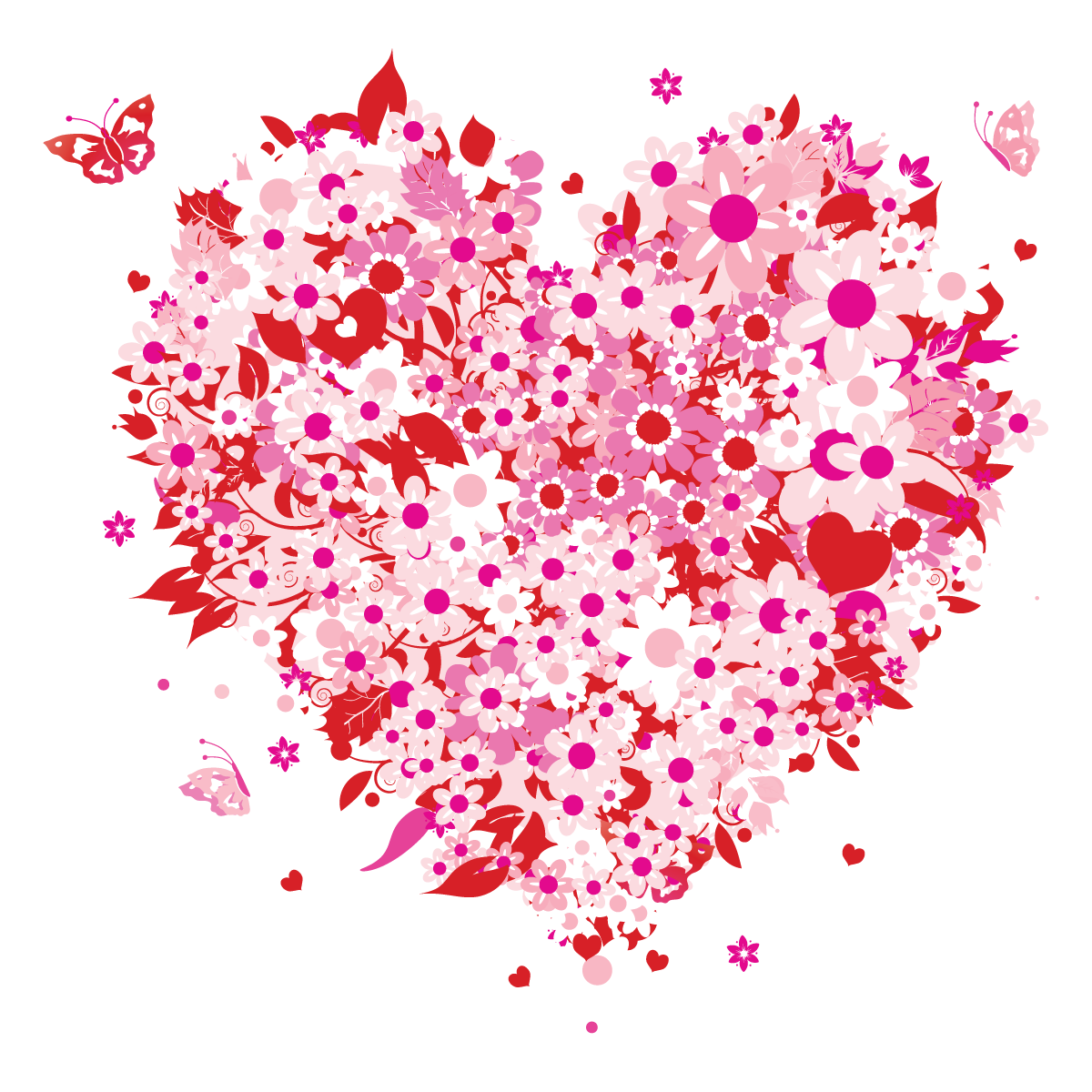 Clipart of mothers day hearts. Mother s heart kid