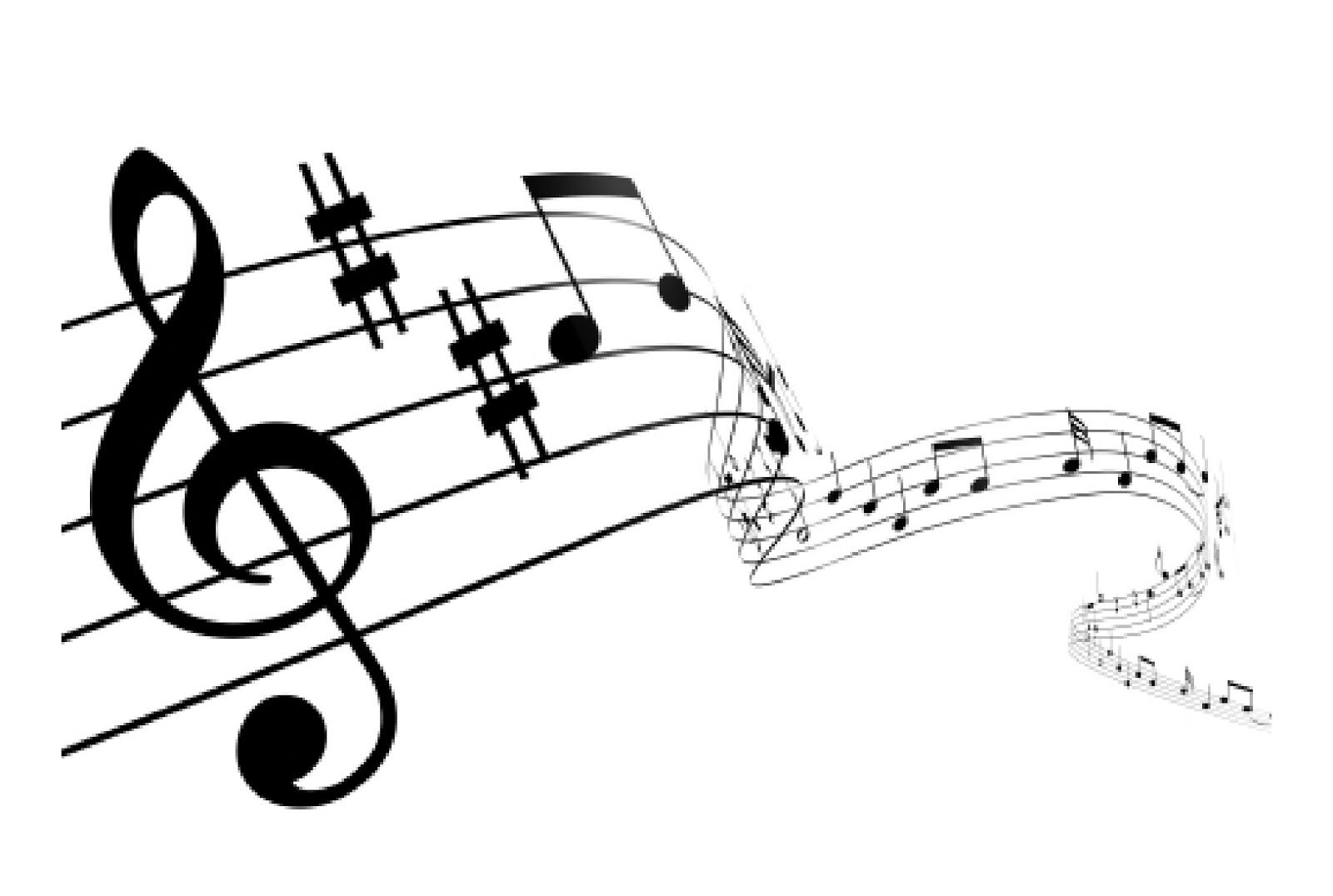 Clipart of music staff vector library download Images For > Music Staff Clipart | future tatts | Piano music notes ... vector library download