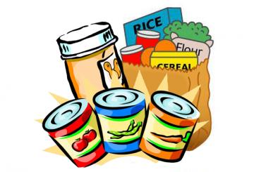 Clipart of non-perishable food graphic black and white Non Perishable Food Clipart | Free download best Non Perishable Food ... graphic black and white
