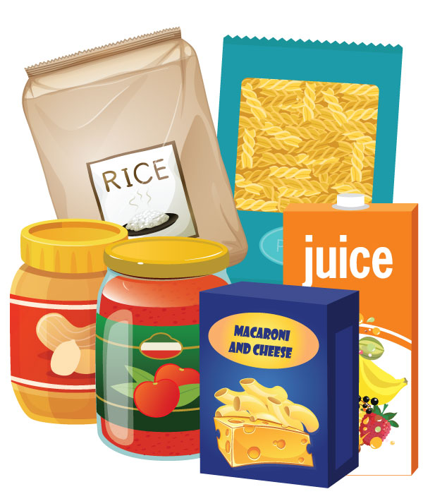 Clipart of non-perishable food image royalty free library Non Perishable Food Clipart (77+ images in Collection) Page 1 image royalty free library