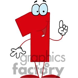 Clipart of number 1 graphic freeuse library Red Number 1 Clipart - Clipart Kid graphic freeuse library