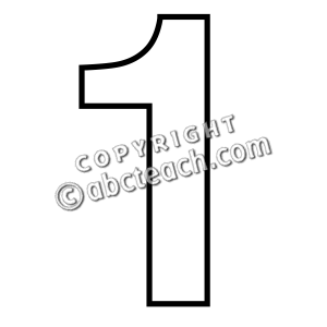 Clipart of number 1 clipart royalty free stock Clipart of number 1 - ClipartFest clipart royalty free stock
