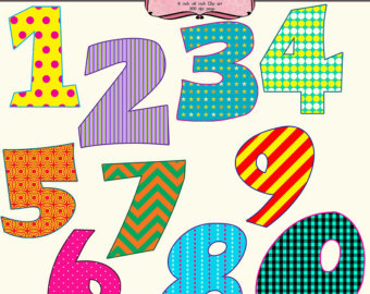 Clipart of numbers 1 10 jpg freeuse download Clip Art Numbers 1-20 Clipart - Clipart Kid jpg freeuse download