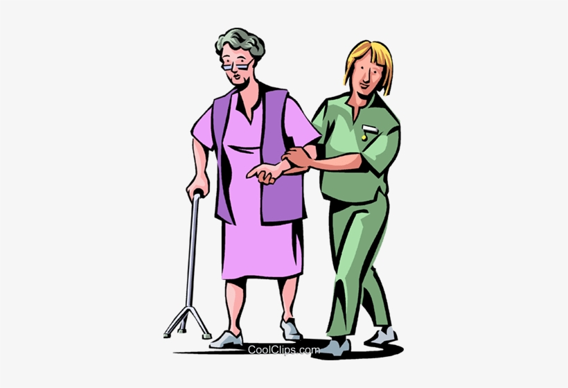 Clipart of nurses and patients clipart free Nurses With Patients Royalty Free Vector Clip Art Illustration ... clipart free