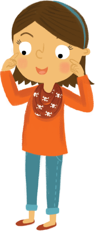 Clipart of of someone pointing to their eye clip art library Video and Powerpoints – Go! Gaelic clip art library
