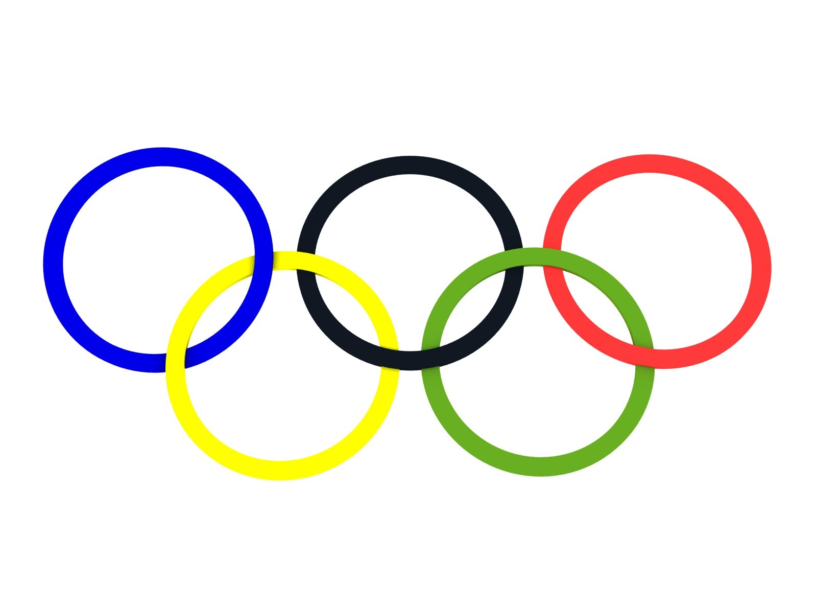 Clipart of olympic rings