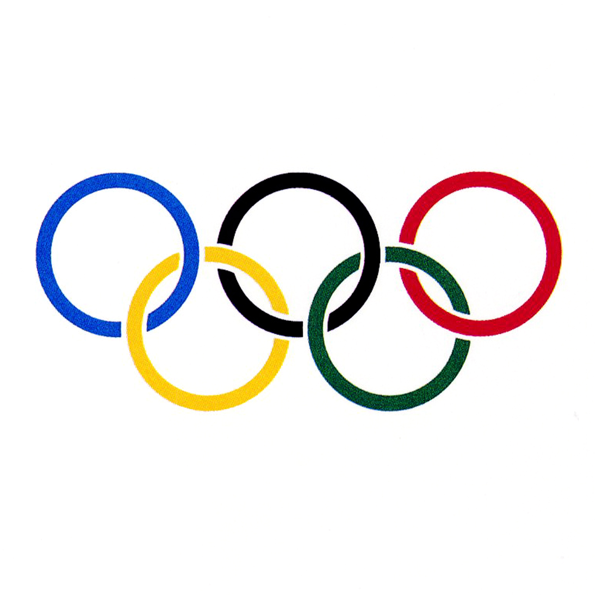 Usa olympic rings clipart