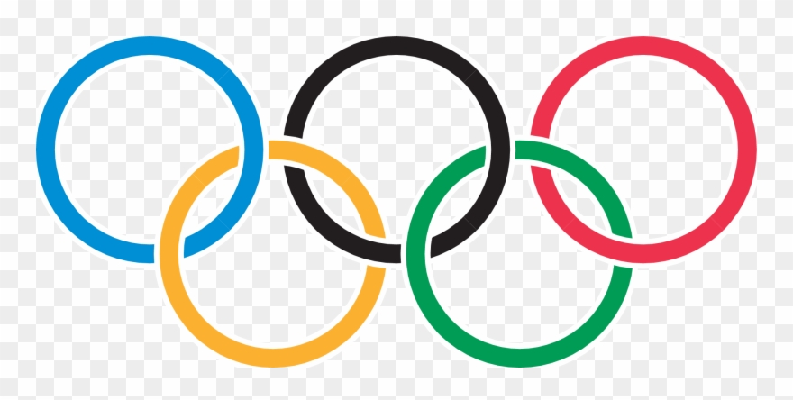 Clipart of olympic rings vector free Olympic Rings Clipart (#833264) - PinClipart vector free
