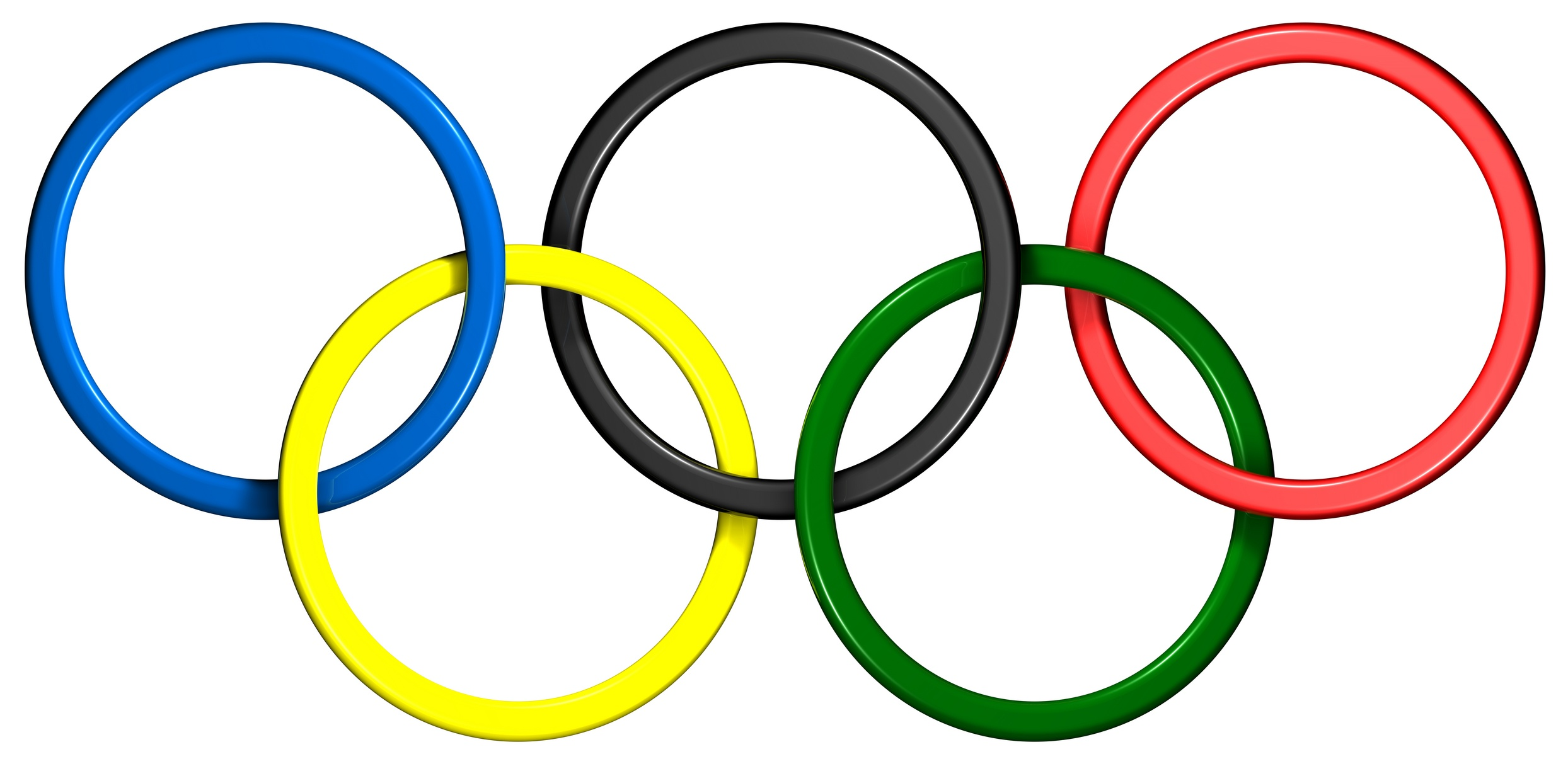 Clipart of olympic rings image black and white library Free Olympics Rings, Download Free Clip Art, Free Clip Art on ... image black and white library