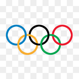 Clipart of olympic rings vector transparent Olympic rings clipart » Clipart Station vector transparent