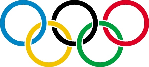 Free clipart images olympic rings png transparent download Olympic Rings clip art Free vector in Open office drawing svg ( .svg ... png transparent download