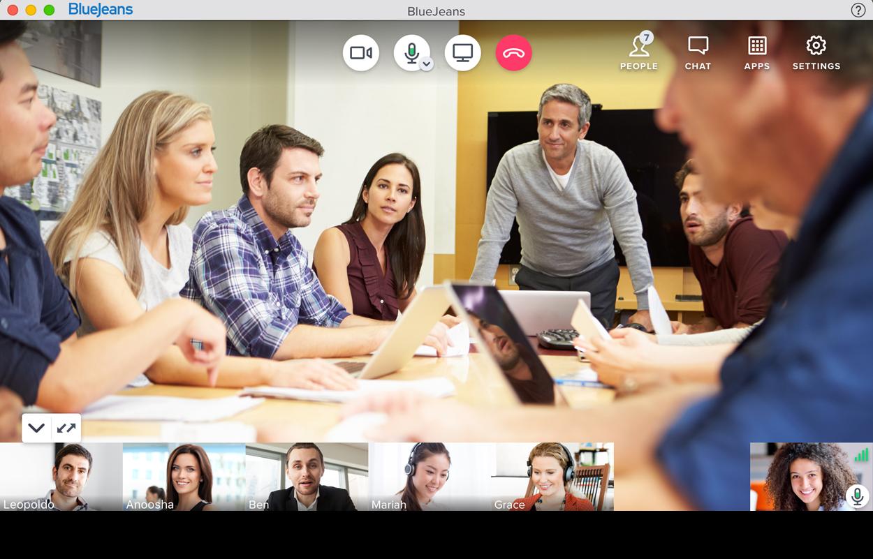 Clipart of online meetings 1920 x 1080 pixel image transparent Video Calling Features - BlueJeans image transparent