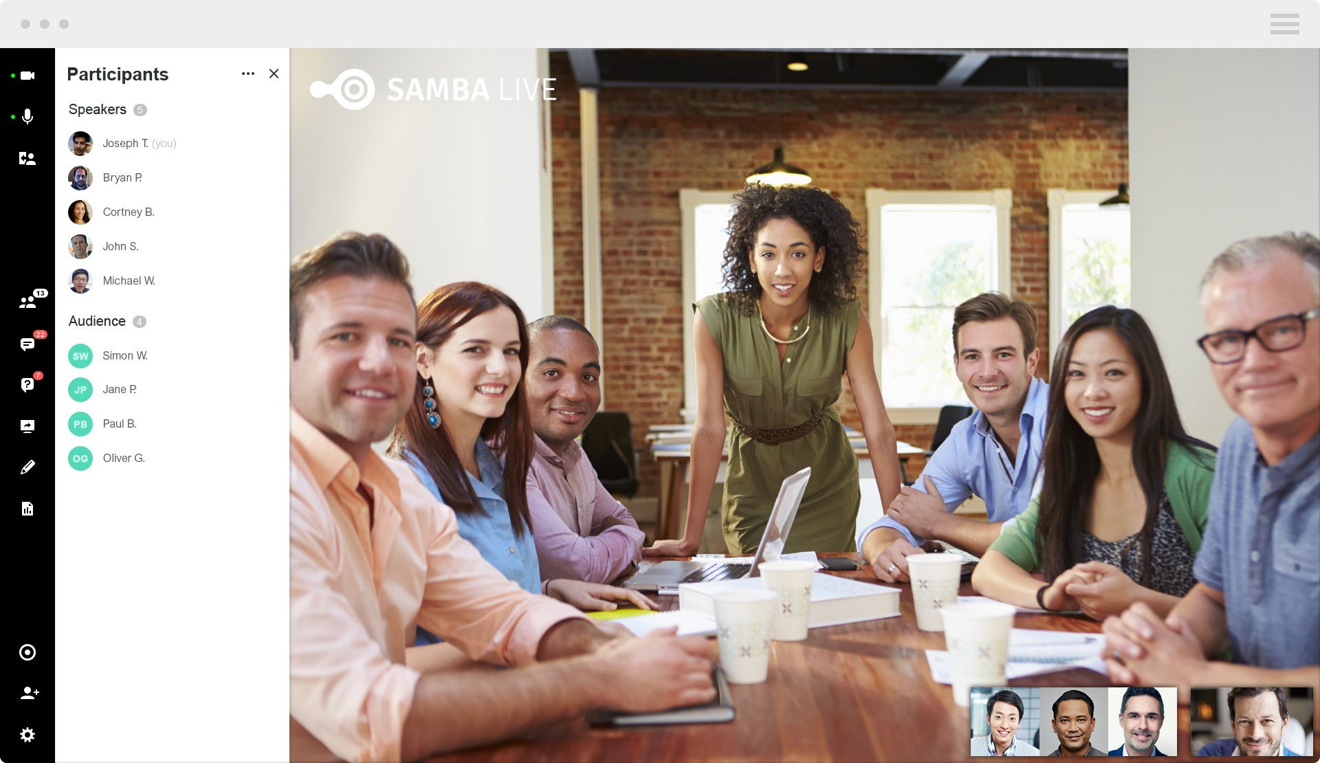 Clipart of online meetings 1920 x 1080 pixel graphic transparent Cloud based webinars & meetings | Samba Live graphic transparent