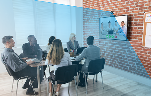 Clipart of online meetings 1920 x 1080 pixel vector royalty free ezTalks Meet X: Premium Video Conferencing Device for Medium and ... vector royalty free