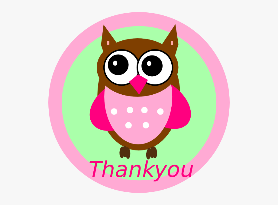 Clipart of owl saying i ll miss you clip black and white library Thank You Black And White Thank You Clip Art Black - Clip Art Owl ... clip black and white library