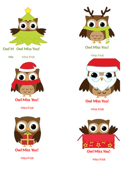 Clipart of owl saying i ll miss you image library stock Owl Miss You Tags Worksheets & Teaching Resources | TpT image library stock