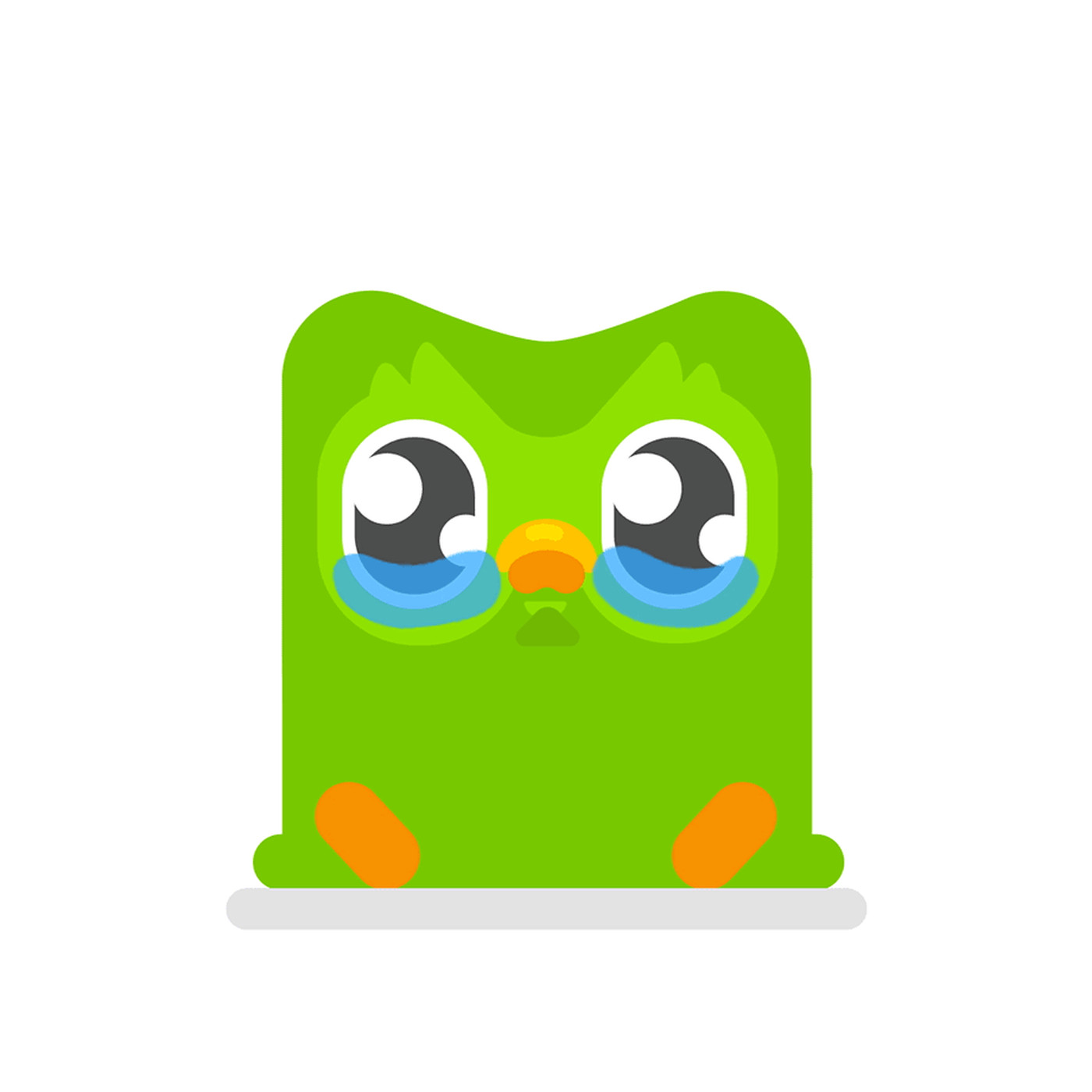 Clipart of owl saying i ll miss you transparent library Duolingo redesigned its owl to guilt-trip you even harder - The Verge transparent library