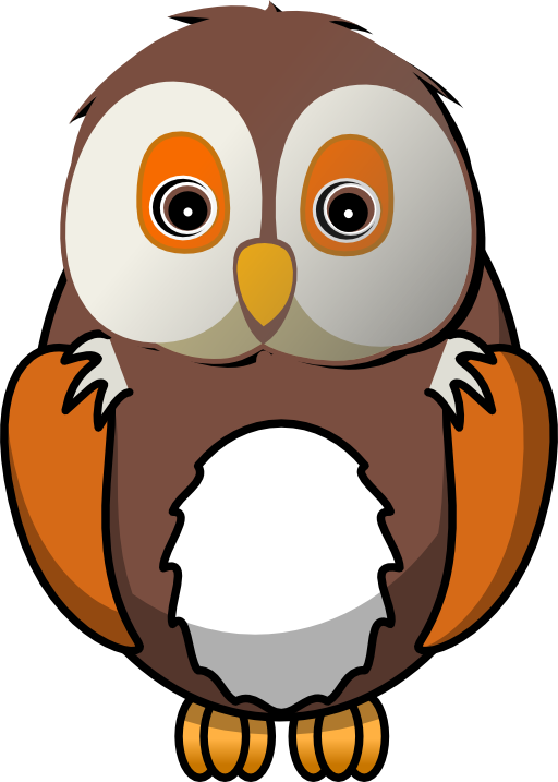Clipart of owl with apple picture freeuse library Cute Wise Owl Clipart | Clipart Panda - Free Clipart Images | I love ... picture freeuse library