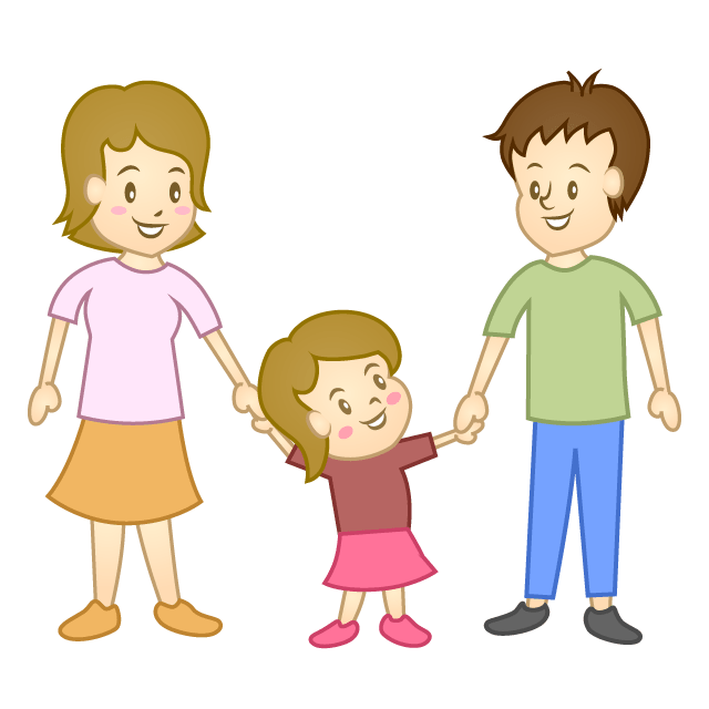 Clipart of parents and child graphic freeuse stock Child with parents clipart 4 » Clipart Portal graphic freeuse stock