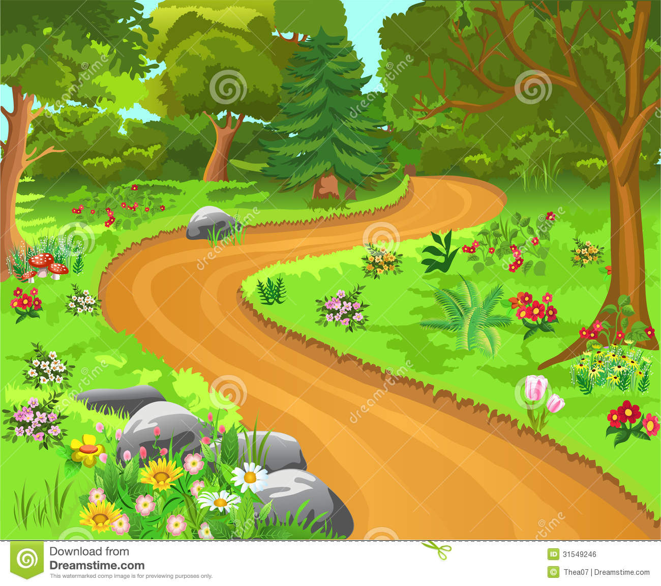 Clipart of path picture transparent stock Path clipart 2 » Clipart Station picture transparent stock