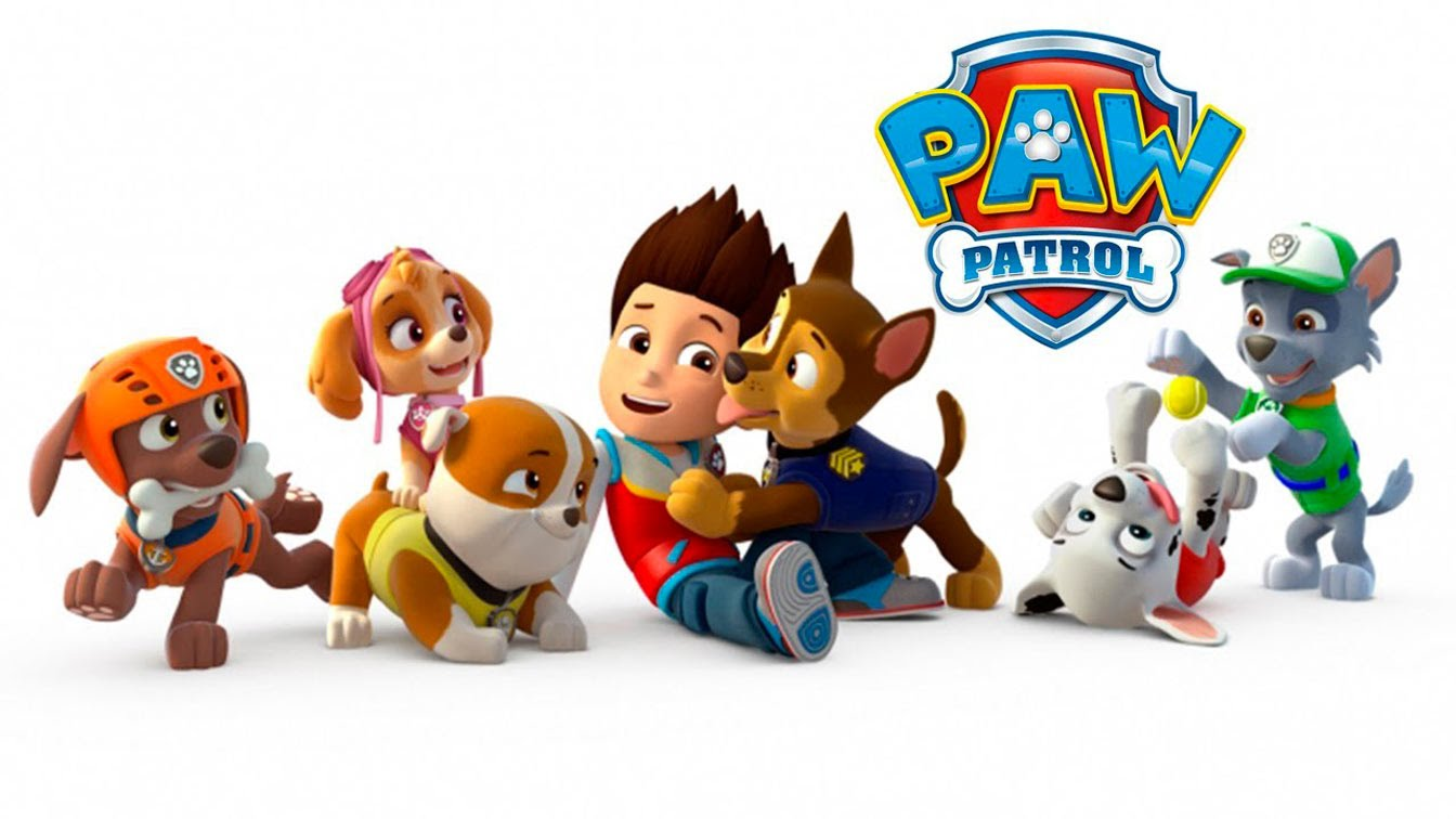 Clipart of paw patrol transparent stock Paw patrol free clipart - ClipartFest transparent stock