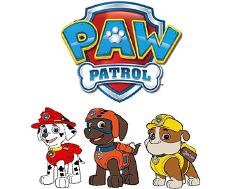 Clipart of paw patrol graphic royalty free Paw patrol clipart | Etsy graphic royalty free