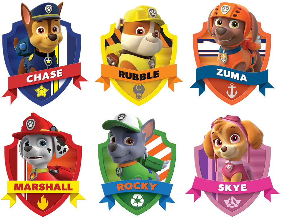 Clipart of paw patrol clip freeuse stock Paw Patrol Free Printable Kit. | Is it for PARTIES? Is it FREE? Is ... clip freeuse stock
