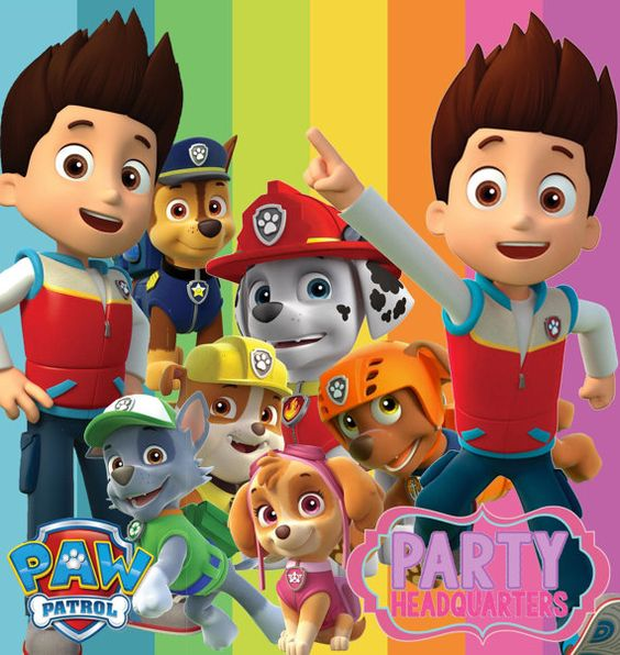 Clipart of paw patrol jpg stock INSTANT DOWNLOAD ~ Paw Patrol Collection ~ Digital Clip Art ~ High ... jpg stock