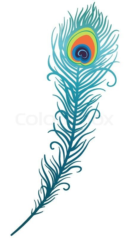 Peacock feathers clipart png free Peacock Feather Drawing Clipart | Cricket | Feather drawing, Peacock ... png free